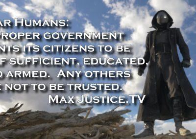 Proper Government