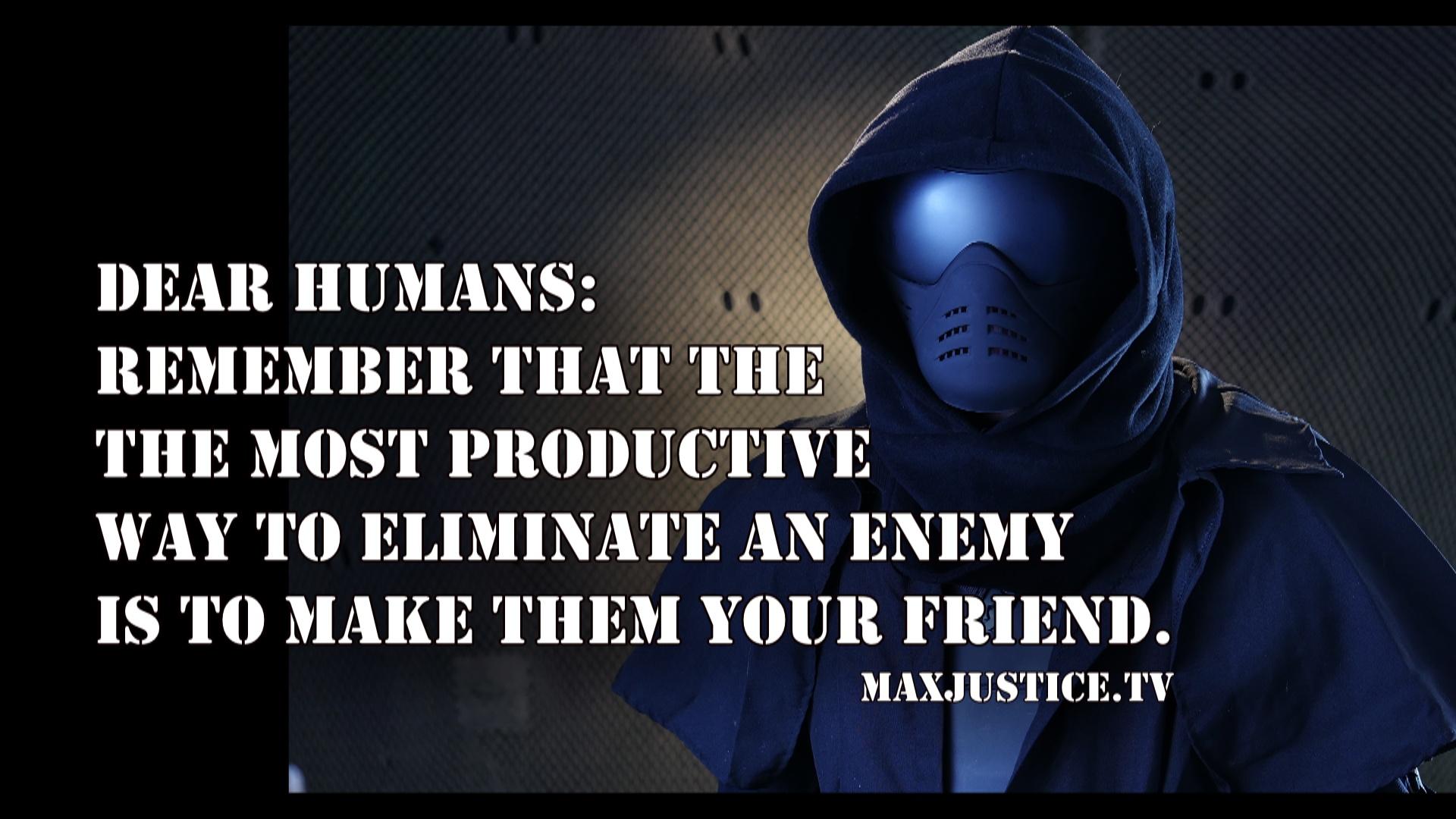 enemy to friend